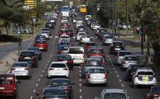 Las obras reducen el tráfico junto al cauce y el acceso por la avenida del Cid