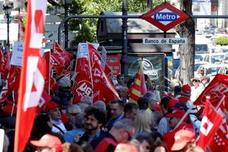 Los sindicatos advierten de que se seguirán movilizando mientras no se derogue la reforma de las pensiones