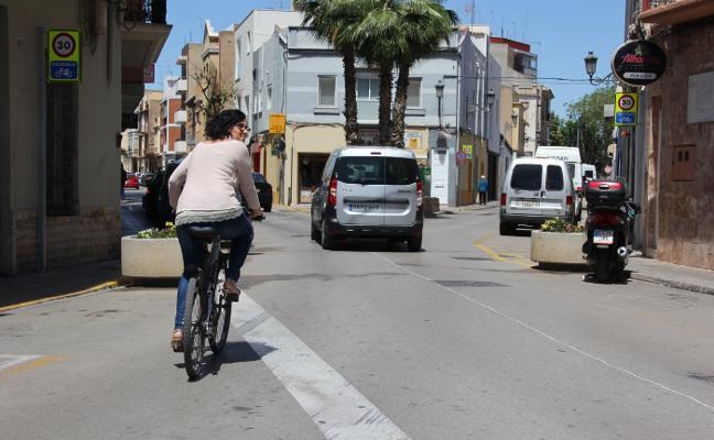 Manises conecta a la red del carril bici 14 ciclocalles