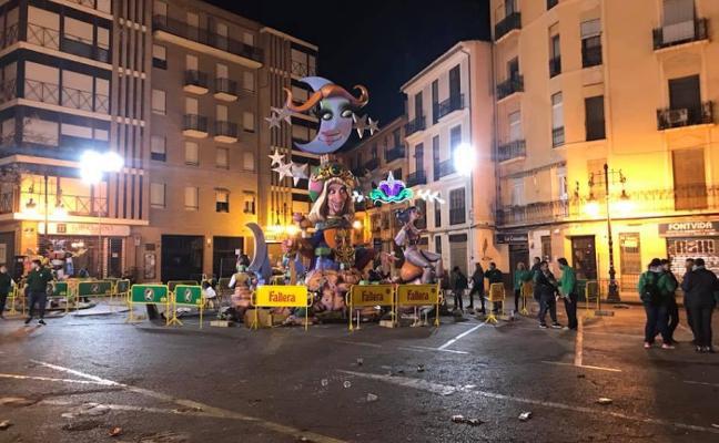 La falla de Rojas Clemente se reubicará en la nueva plaza