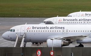 Cancelan 20 vuelos en España por la huelga de pilotos de Brussels Airlines