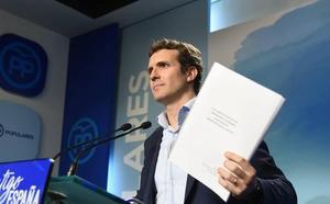 La juez del 'caso máster' investiga el grado universitario de Pablo Casado