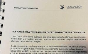 El polémico manual machista de la Federación Argentina para ligar con las mujeres rusas