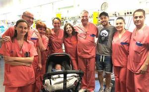 El hijo de David Silva recibe el alta tras cinco meses en un hospital de Valencia