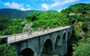 Ruta por las Vías Verdes españolas