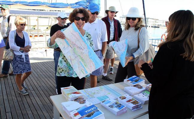 Dénia, parada de lujo para los turistas del SeaDream I