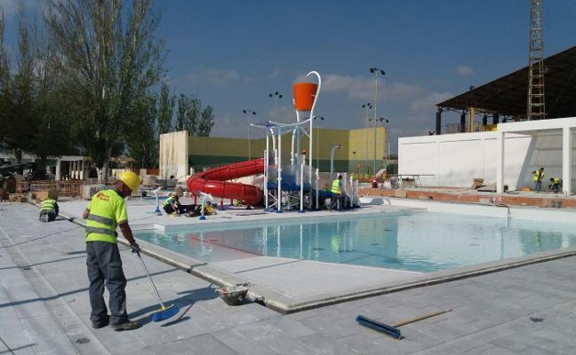 Paterna abrirá la nueva piscina en junio tras una inversión de dos millones y dos años de trabajo
