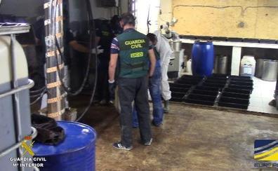 Desmantelado en La Marina Alta el mayor laboratorio de drogas sintéticas de toda España