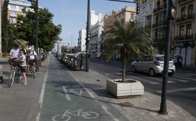 El Consistorio eliminará un vial en la avenida del Puerto para bajar el carril bici de la acera