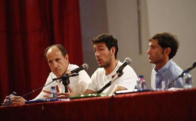 Semedo asiste a la charla de Marcelino y Parejo en la cárcel