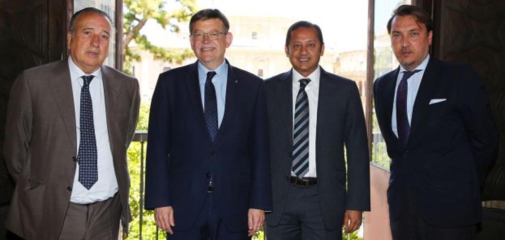 La Generalitat irá de la mano de Valencia, Villarreal y Levante