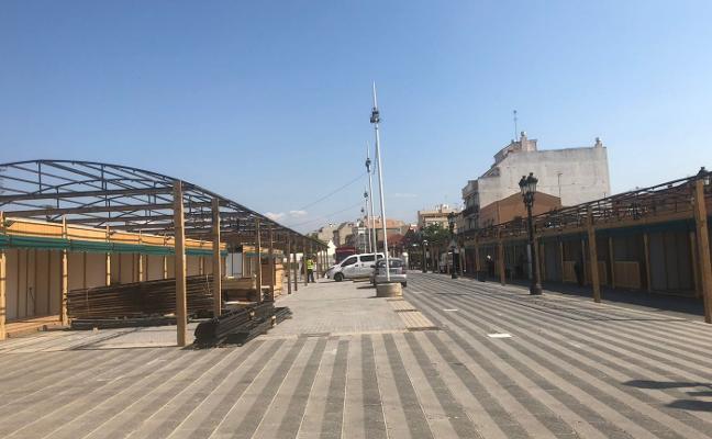 El alcalde de Paterna ordena a Compromís investigar el montaje de casetas de la feria