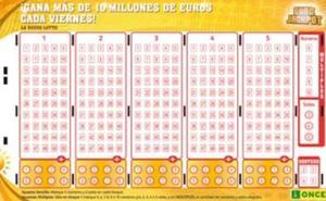Un castellonense gana más de 632.000 euros con el Eurojackpot de la ONCE