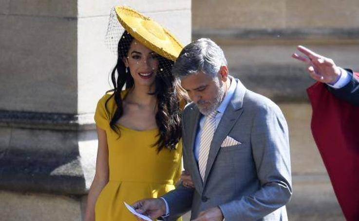 Los Clooney, los Beckham, Elton John y Oprah, entre los invitados a la boda real