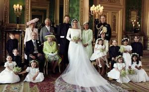 Primeras imágenes oficiales de la boda de los duques de Sussex