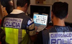 Un alicantino, detenido por compartir pornografía infantil en un chat de internet
