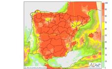 Las tormentas y el granizo vuelven a la Comunitat Valenciana