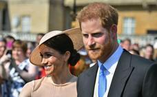 Las primeras imágenes de Meghan y Harry como marido y mujer