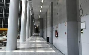 La huelga de jueces y fiscales suspende un millar de asuntos en los juzgados de Valencia