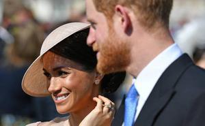 Meghan y Harry acuden a su primer acto oficial como marido y mujer