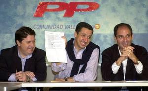 Tres de los cuatro expresidentes valencianos del PP, investigados por corrupción