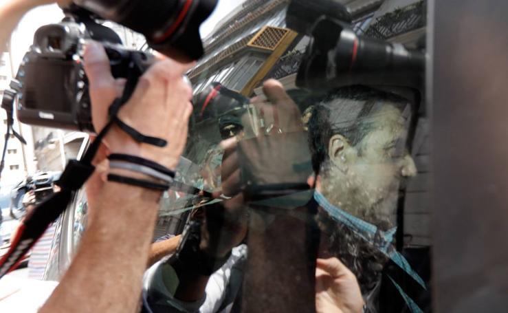 Detención de Eduardo Zaplana, ex presidente de la Generalitat y exministro