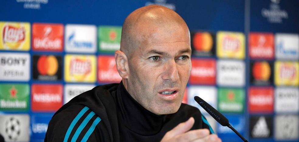 Zidane: «Nadie nos puede decir que tenemos menos hambre»