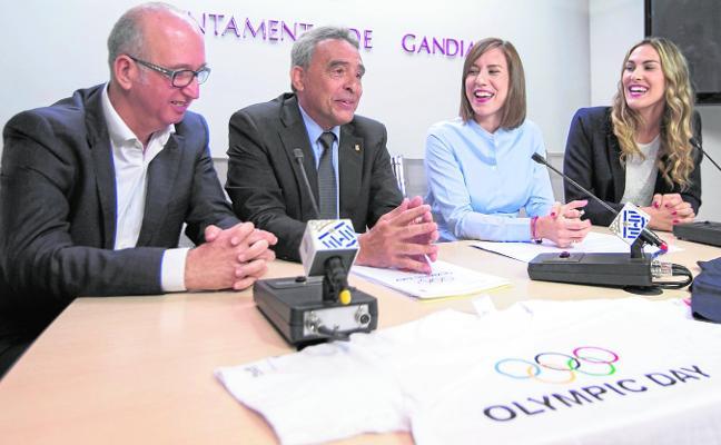 El COE escoge Gandia para celebrar su única fiesta en España con motivo del Día Olimpico