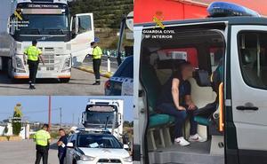 Detenido un camionero con una tasa de alcoholemia 9 veces superior a la permitida