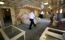 El lujoso yate de Sadam Husein se convierte en un hotel