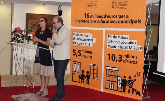 La comarca mejorará sus centros educativos con una inversión de 2,5 millones de euros