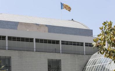 El trencadís del Palau de la Música también se cae