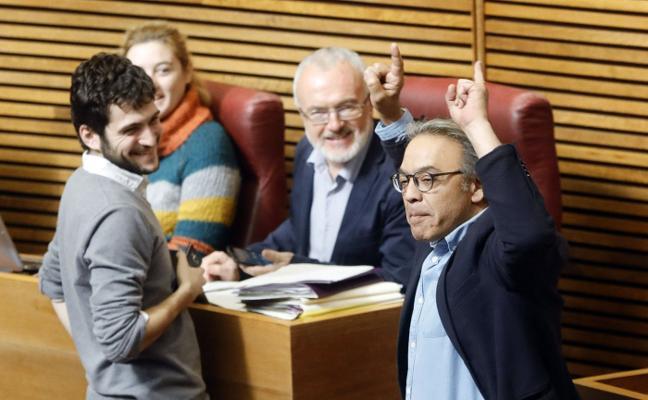 La comisión sobre la financiación del PSPV y el Bloc enfrenta al Botánico