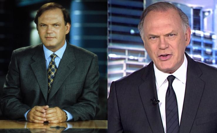 Así han cambiado en los últimos años los presentadores de televisión más conocidos