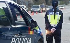 Detenido el conductor de un vehículo robado tras una persecución policial a gran velocidad por la A-7