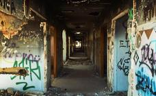 Terror en Valencia: en los interiores del psiquiátrico abandonado de Cheste