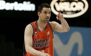 La afición del Valencia Basket premia a Rafa Martínez