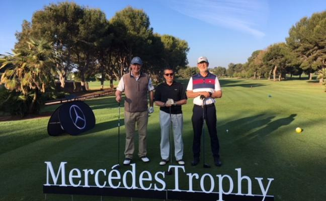 Finalizó el Mercedes Trophy de golf