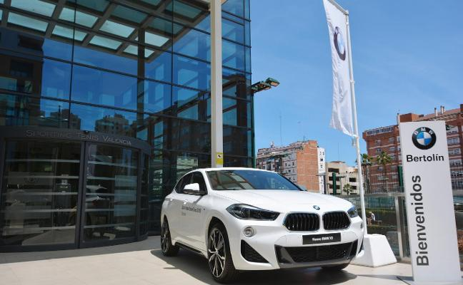 Bertolín, con el BMW Grand Pádel Tour