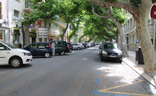 El Ejecutivo de Dénia defiende peatonalizar la calle Campos cuando haya parking y dinero