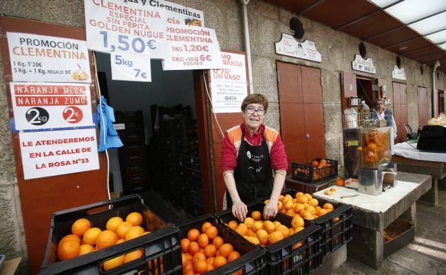 Naranjas de Bechí para los peregrinos de Santiago