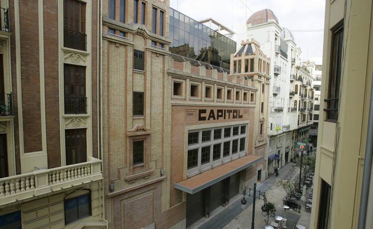 Cines de otro tiempo en Valencia