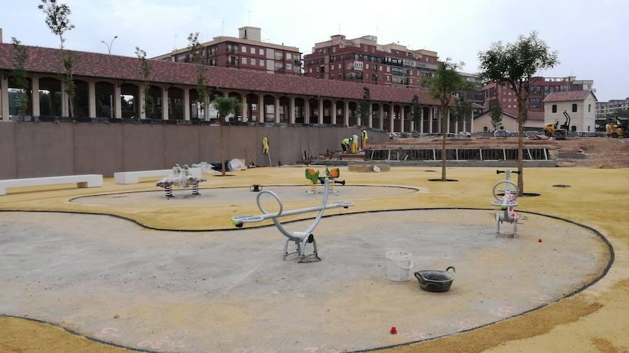 El Jardín de los Niños del Parque Central de Valencia