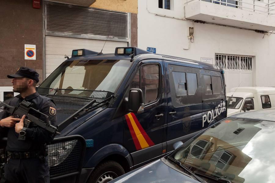 Detenido un matrimonio en Murcia por causar quemaduras a su hija con la plancha