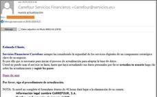 Cuidado con esta campaña que suplanta a Carrefour por email