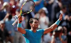 Nadal somete a Pella y continúa intocable para Argentina en Roland Garros