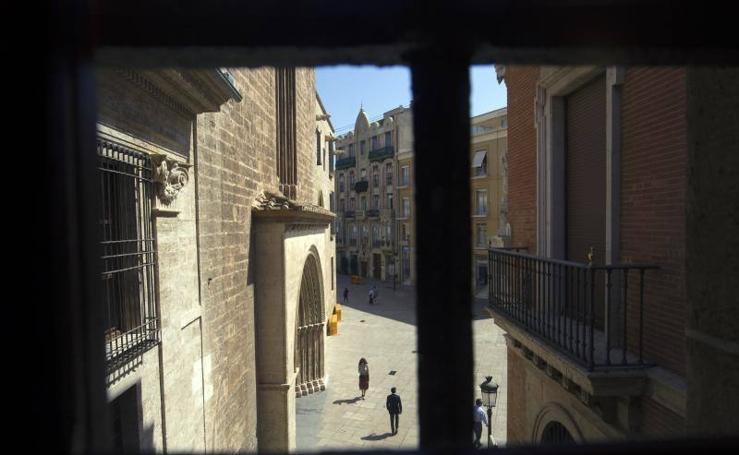El pasadizo del siglo XVIII de la Seo al Palacio Arzobispal recupera su esplendor