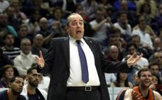 Vidorreta: «Si el Valencia Basket desea que continúe habrá que hablar de cosas internas»