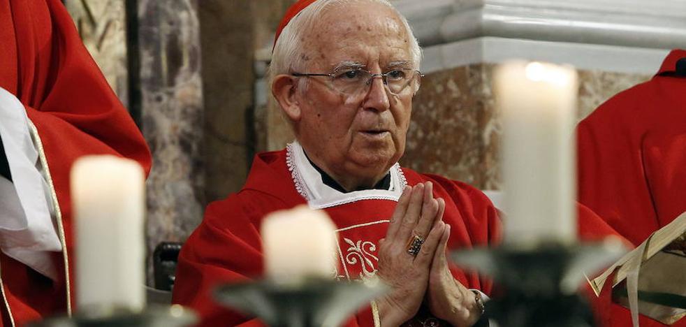 El cardenal Cañizares llama a la unidad ante la situación de España