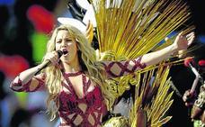 Shakira vuelve por fin a los escenarios